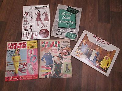Old Sewing Magazines  / Books / Patterns