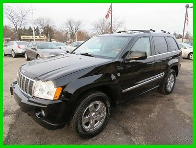 2007 Jeep Grand Cherokee Overland 4x4 2007 Overland 4x4 Used 5.7L V8 16V Automatic 4WD SUV clean clear title carfax we