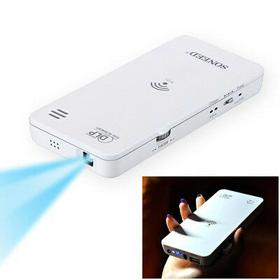 Mini Projectors HD Wireless 3D DLP WiFi Projector For iphone Android Laptop PC