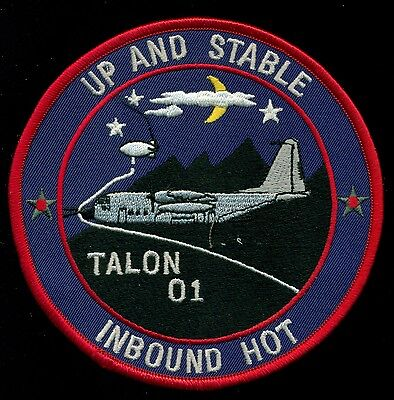 USAF 1st Special Operations Sq Talon 01 Inbound Hot Up & Stable Patch CIRCLE