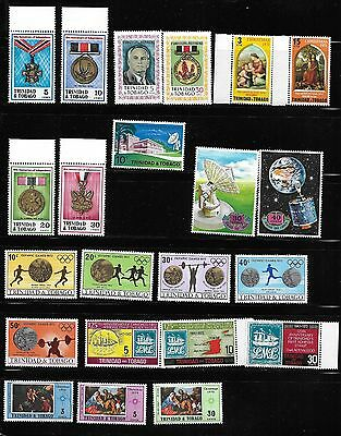 Trinidad and Tobago    1971/1972 Mint Never Hinged Selection