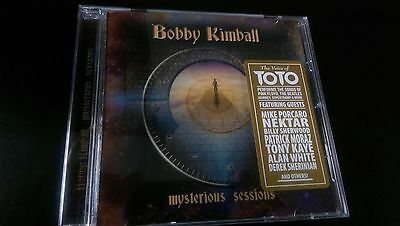 BOBBY KIMBALL - Mysterious Sessions CD ( TOTO) Hold the Line Rosanna Africa