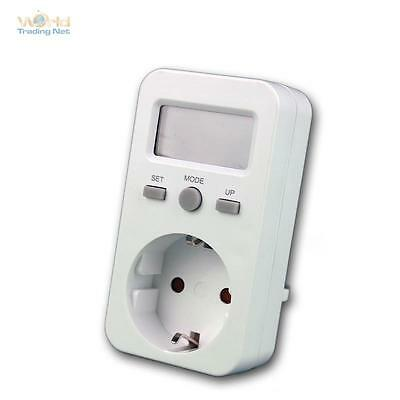 energy cost measuring up 3680W, 16A Ammeter Energy meter Electric meter