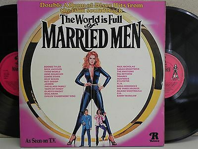 The World Is Full Of Married Men-Best Disco Funk 2-LP Sylvester/Mick Jackson 70s
