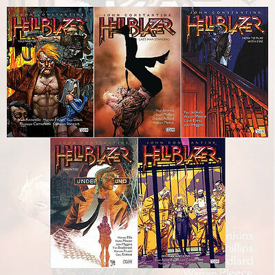 John Constantine Hellblazer TP Series Collection (Vol 11 to 15) 5 Books Set, NEW