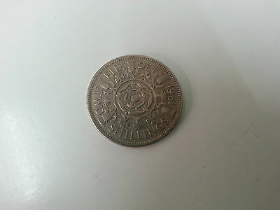 1961 Elizabeth II Florin / Two Shillings Coin