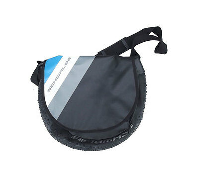 Schwalbe Recycled Tyre Messenger Bag - Blue