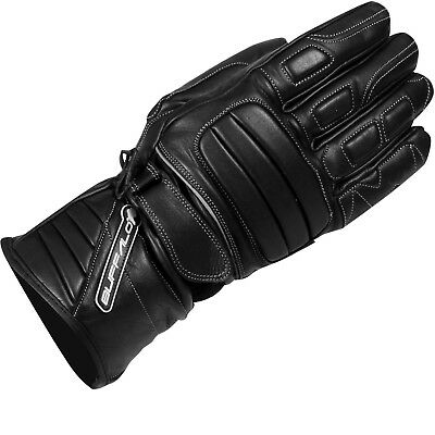 Buffalo Everest Leather Motorcycle Gloves Waterproof Windproof Breathable