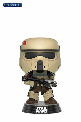 Scarif Stormtrooper Blue Stripe Pop! Vinyl Bobble-Head #156