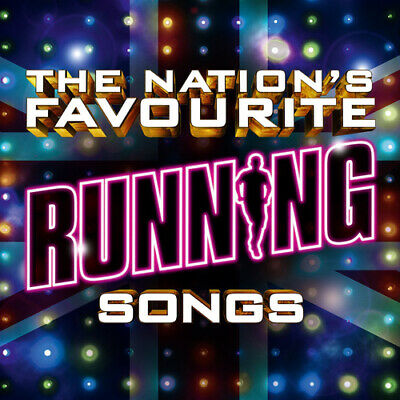 Various Artists : The Nation's Favourite Running Songs CD Box Set 3 discs