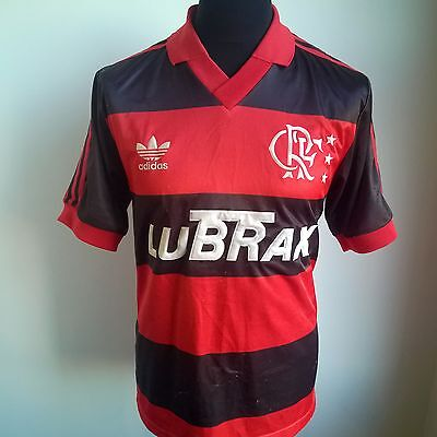 Flamengo 1990 Home Football Shirt Vintage Adidas Jersey Size Adult M