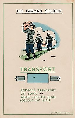 New A4 Print Ww2 The German Soldier British Army Recce Poster Transport