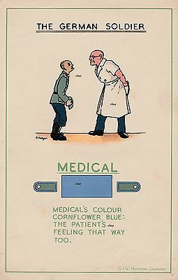 New A4 Print Ww2 The German Soldier British Army Recce Poster Medical World War