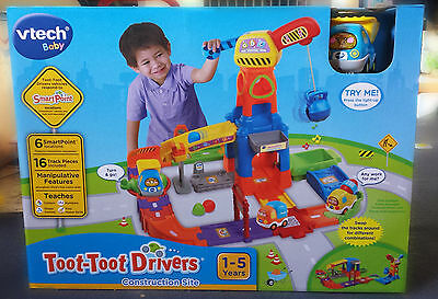 Vtech Toot Toot Driver Construction Site NEW