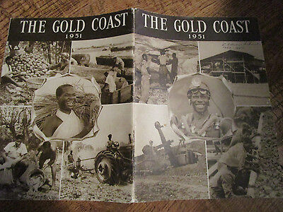 Vtg 1951 The Gold Coast Africa Booklet/History /For British Industries Fair