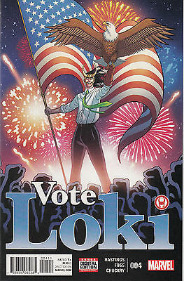 Marvel Comics Vote Loki #4, Near Mint, Never Read!