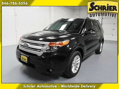 2014 Ford Explorer XLT Sport Utility 4-Door 14 Ford Explorer Black 4WD HID Headlights 7 Passenger Rear Climate Control