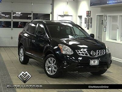 2013 Nissan Rogue  13 nissan rogue sl awd navi gps rear view cam roof auto heated leather 1 owner