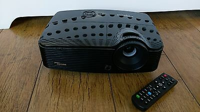 Optoma DX330 DLP 3D Projector- 3723 hours Used