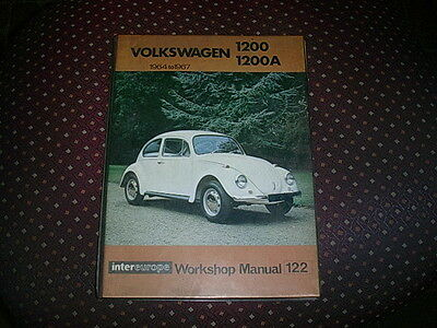 Volkswagen Beetle Intereurope Workshop Manual 122 For 1200 & 1200A