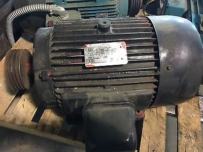 Toshiba 10 hp Motor Model NO.. B0106FLF2UM Used Two Available Price is for Each