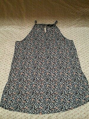 Newlook floral vest age 12-13