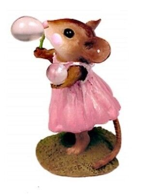 Wee Forest Folk Poppy's Bubble M-321 Pink  RETIRED COLOR