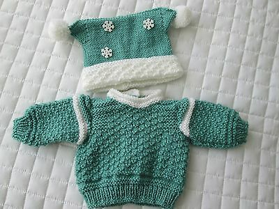 Hand Knitted Outfit for 18 Inch Designafriend Doll