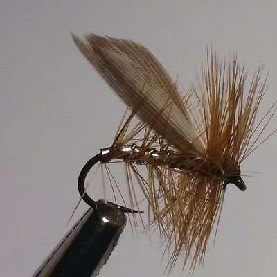 Silver Sedge Trout Buzzers Trout Lures Dry Fly Fishing Trout Flies