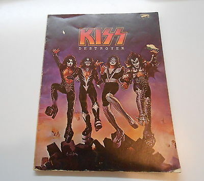 KISS ** DESTROYER ** SongBook ** 1976' Rock Steady Music