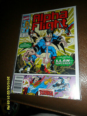 1990 Alpha Flight # 86 Guest-Starring Dr.strange Free Shipping Canada And Usa