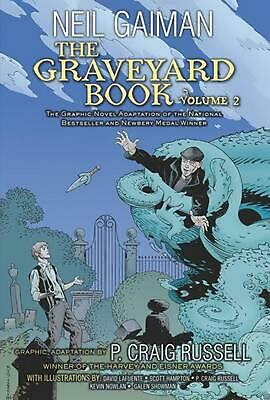 The Graveyard Book Graphic Novel: Volume 2 by Neil Gaiman (English) Paperback Bo