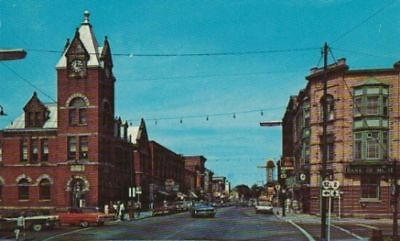 Gananoque Ontario King St. Looking East Chrome VG