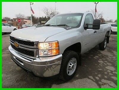 2013 Chevrolet Silverado 2500 Work Truck 2013 Work Truck Used 6L V8 16V Automatic 4WD Pickup Truck Clean clear title we