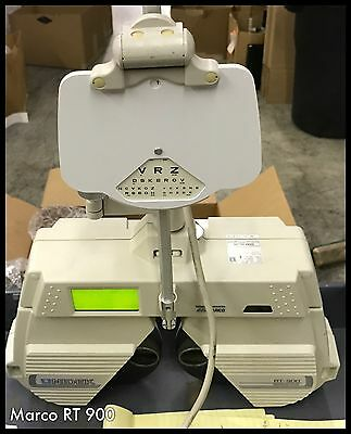 "Marco/Nidek RT-900 Auto Phoropter System""COMPLETE-TURN KEY"" W/Remote & EMR READY"