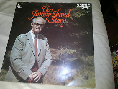The Jimmy Shand Story  double vinyl LP - Scottish folk legend