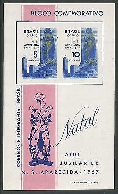 BRAZIL. 1967. Our Lady of The Apparition. Miniature Sheet. SG: MS1188. MNH.