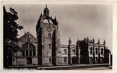 Aberdeen University, King's College, old RP postcard, unposted