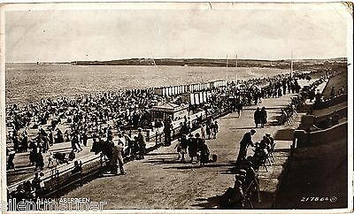Aberdeen, The Beach, old postcard, posted 1935