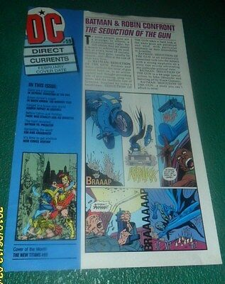 1993 Direct Currents #59 Batman & Robin The New Titans  & More Free Shipping