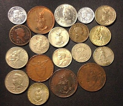 Old Philippines Coin Lot - 1928-Present - 19 Great Coins - Lot #J20
