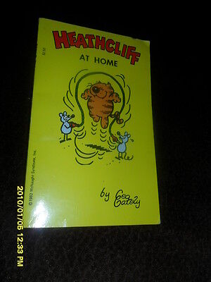 1985 Heathcliff At Home Comic Book Digest Book Free Shipping To Canada  Usa