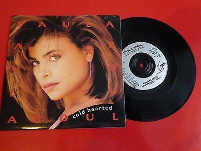 "7"" Vinyl - Paula Abdul - Cold Hearted - Unplayed"
