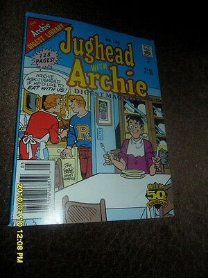 1991 Jughead Jones Comic Book Digest Magazine #105 At The Supper Table