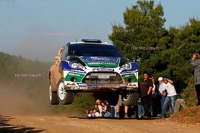 Petter Solberg Ford Fiesta RS WRC World Rally Championship 2012 Photograph