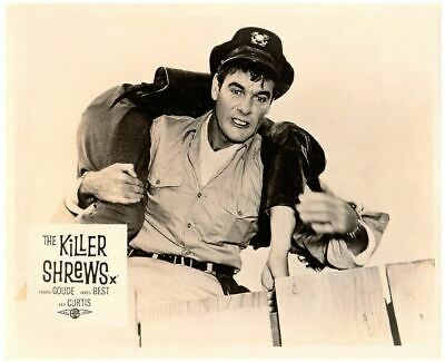 The Killer Shrews Original Lobby Card B-Movie Horror Cult Classic James Best