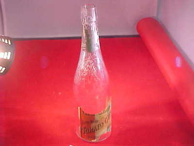 Antique Catsup bottle, (The Standard) Home Made Catsup, Philadelphia, Pa., paper