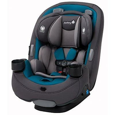 Safety 1st Grow and Go 3-in-1 Convertible Car Seat, Blue Coral New