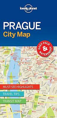 Lonely Planet Praguecity Map by Lonely Planet (English)
