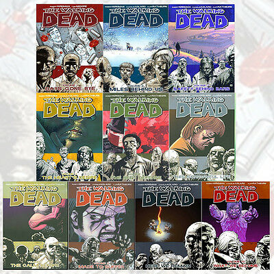 Robert Kirkman Walking Dead Volume (1 - 10)Collection 10 Books Set New Paperback